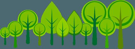 alberi green